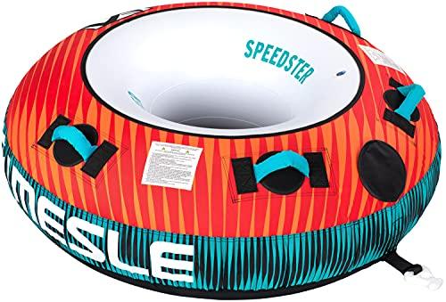 MESLE Towable Tube Speedster 58'', 1 Personne, Tube Gonflable Donut Fun-Tube, 840 D Nylon, pour...