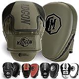 Martial Manoplas de Boxeo y Artes Marciales con Acolchado de Ideal para Absorción Óptima de Impactos – Guantes de Boxeo para Artes Marciales, Kick Boxing, Boxeo en Casa - 1 Par - Bolsa Incluida