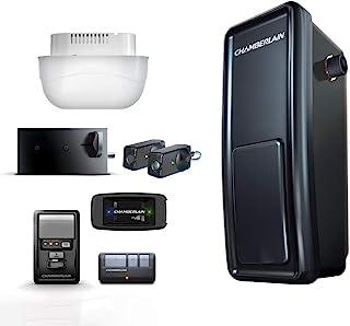 Chamberlain Smart Garage Door Opener - Wall Mounted - myQ Smartphone Controlled - Ultra Quiet Space Saving Direct Drive, M...