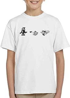 Comics Kingdom Krazy Kat Brick Mid Air Kid's T-Shirt