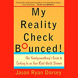 My Reality Check Bounced! audiobook cover art