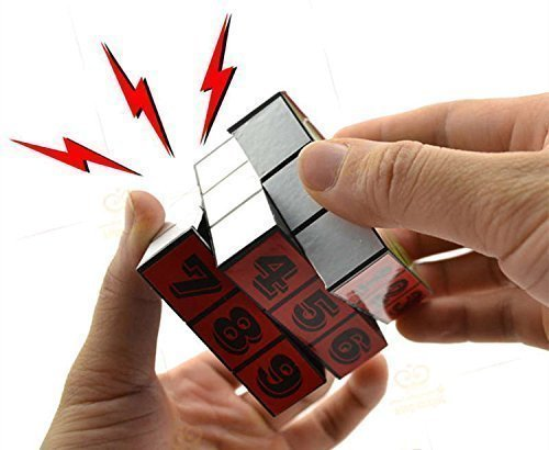 Artificial Cube Creative Electric Shock Toy Funny Novelty Prank Toy April Fool's day Gifts Joke Gifts Tricky by Lucky Shop1234