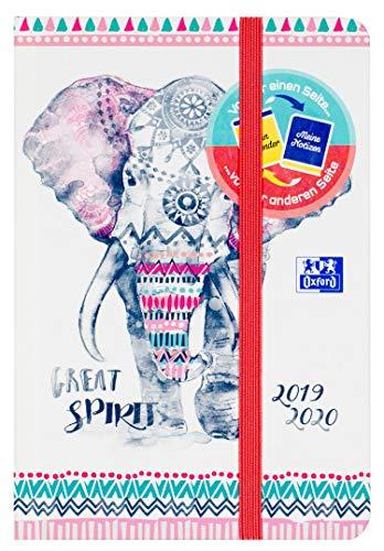 Oxford - Agenda escolar Boho Chic 12 x 18 cm, 1 página por...