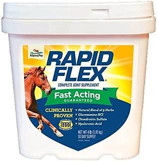 Manna Pro 1000072 Fast Acting Equine Joint, 4 lb Rapid Flex Supplement, 4-Pounds, 4 Pound