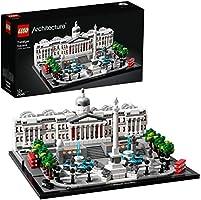 LEGO- Architecture Trafalgar Square Set di Costruzioni per Ricostruire uno dei Famosi Angoli di Londra, per Ragazzi +12...