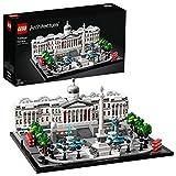 Trafalgar Square (21045) - Maqueta para construir el emblemático espacio de Londres, incluye Taxis y Autobuses Típicos de la Ciudad
