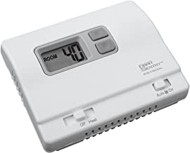 ICM Controls FS1500L Garage Stat, 35 Degree - 75 Degree, Heat Only, 18 VAC - 30 VAC, Battery, Remote Compatible (ACC-RT104)