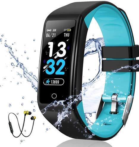 DUODUOGO Smartwatch Reloj Resistente Baratos Hombre Mujer Niños Pulso Cardiaco Impermeable Smartwatch...