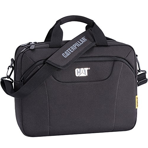Caterpillar 83477-01 Cat Laptoptasche Bizz Tools, SW, Schwarz, 32 x 12 x 45 cm