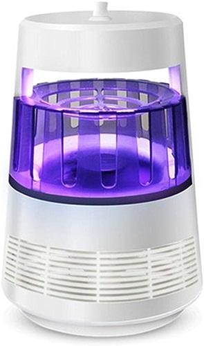 YQ&TL Lampe de Tueur de Moustique en Plastique ABS (Couleur  Blanc, Taille  142X142X210MM) de réduction de Bruit à l'intérieur de la Lampe UV-LED Non radiative