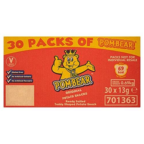 Pom-oso Snacks original patata 30 x 15 g (paquete de 15 g)