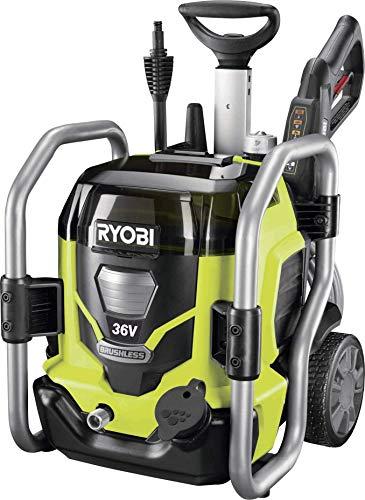 Ryobi 5133002832 accu-hogedrukreiniger RPW36120HI (320 liter/uur, 1600 W, zonder accu, incl. fles voor reinigingsmiddel)