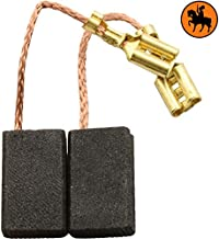 2.4x2.8x5.1 Balais de Charbon pour BLACK /& DECKER GT534-6x7x13mm