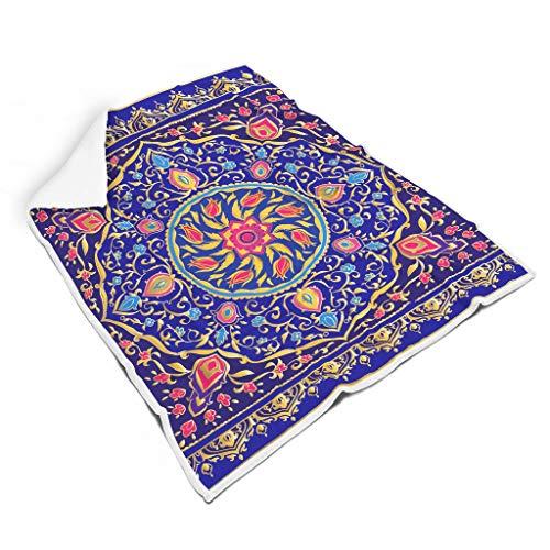 Ainiteey Mandala knuffelig heldere kleuren deken voor de kamer Voel je zacht voor baby veelzijdige stijl mandala