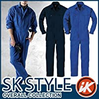 長袖ツナギ カラー:3_ブルー サイズ:3L