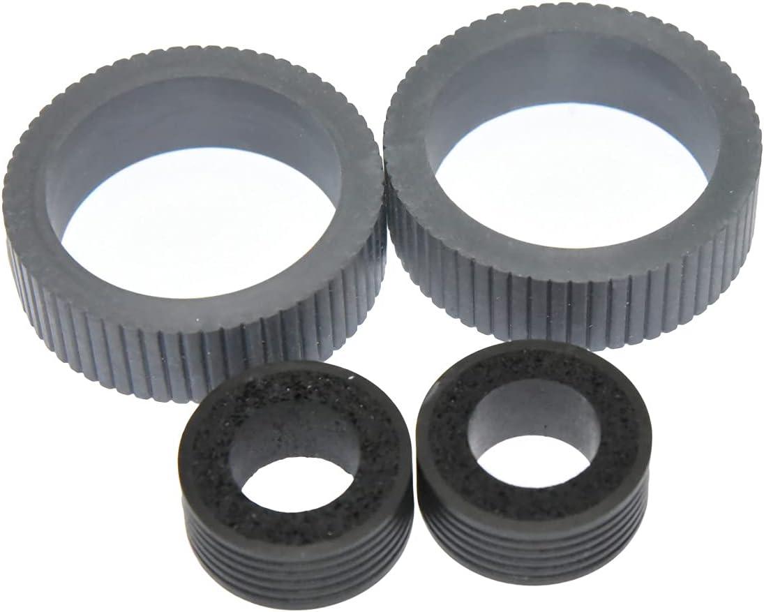 1set PA03670-0001 PA03670-0002 Consumable Kit Pick Roller + Brake Roller for Fujitsu Scanner Brake and Pick Roller fi-7160 fi-7260 fi-7140 fi-7240 fi-7180 fi-7280 fi-7300NX (Tire)