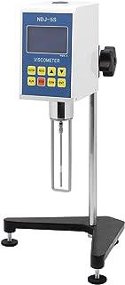 BAOSHISHAN Digital Rotary Viscometer Viscosity Tester NDJ-1/NDJ-5S/NDJ-8S Fluidimeter Meter Newton Liquid Viscometer (NDJ-5S)