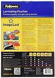 Zoom IMG-1 fellowes 5307407 pouches di plastificazione
