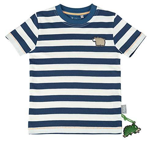 Sigikid Jungen, Mini T-Shirt, Blau (Dark Denim 279), (Herstellergröße: 98)