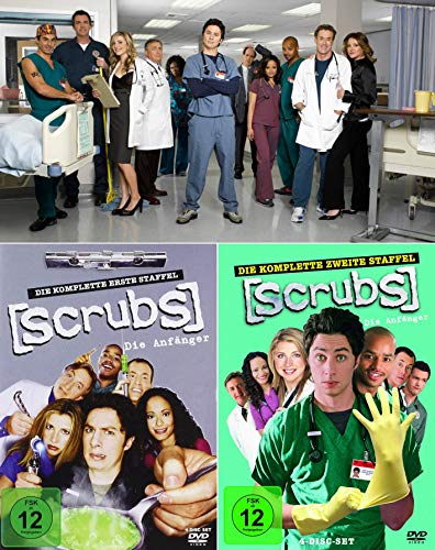 Scrubs: Die Anfänger - Die komplette 1. + 2. Staffel (8-Disc / 2-Boxen)