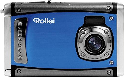 Rollei Sportsline 80 wasserdichte Digitalkamera, ideal für den Urlaub (8 Megapixel, 6,1 cm (2,4 Zoll) Farb-TFT-LCD, Full HD-Videofunktion) - Blau