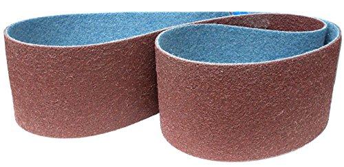 Score Abrasives Pro Line Vlies-Schleifband/Vliesband | 150 x 2000 mm | 1 Stück | Körnung: medium/mittel / rot (P120 - P150)