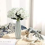 123 Life Jarrones de plástico para flores, florero decorativo moderno...