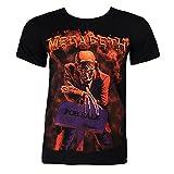 Camiseta vendedor de paz de Megadeth (Negro) - S