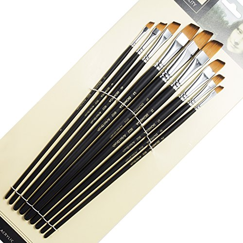 Angled Art Paintbrushes