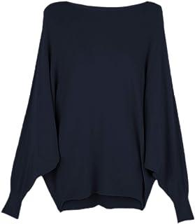 Dwevkeful Pulloverkleid Damen Elegant Langarm Fledermaus/ärmel V-Ausschnitt Bodycon Minikleid Herbst Winterkleid Cocktailkleid Partykleid Freizeitkleider Abendkleider