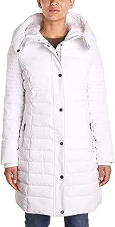Nanette Lepore Women's Envelope Hood Puffer Coat