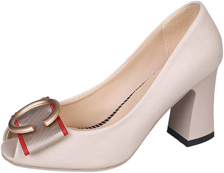 NURJOR Women's Pointed Toe High Heels Pump shoes