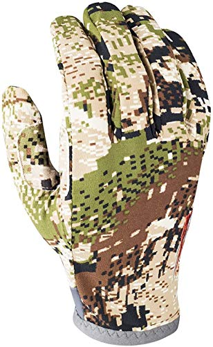 SITKA Gear Men's Ascent Concealment Conductive Hunting Gloves, Optifade Subalpine, Large
