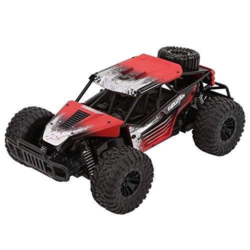 2.4G High-Speed-Elektro-Climbing RC Auto, Bigfoot Driften Off-Road-4-Kanal RC Buggy, Wiederaufladbare Rennwagen for Erwachsene, Kinder Geburtstag Fernbedienung Spielzeug-Auto-Geschenk (Farbe: blau) li