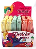 Tinkle Women's- Shaver Rose Razors - (1) Box - (36) PCS - Various Colors - Stainless Steele