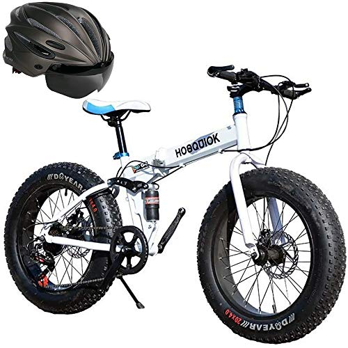 Mountain Bikes Fat Tire Adult Mountain Bike, Double Disc Brakes/high Carbon Steel Frame Men's Bike, 26-inch Beach Snow Bike, Aluminum Alloy Wheels 7-30 Speed