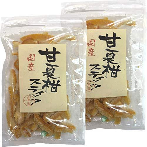 国産甘夏柑スティック 100g×2袋セット 巣鴨のお茶屋さん 山年園