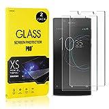 Bear Village® Displayschutzfolie für Sony Xperia L1 / E6, 9H Hart Schutzfilm aus Gehärtetem Glas, Ultra klar Displayschutz Schutzfolie für Sony Xperia L1 / E6, 2 Stück -