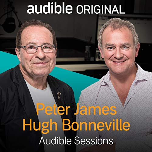 Hugh Bonneville & Peter James cover art