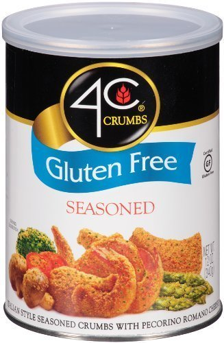 4C, Crumbs, Gluten Free, 12oz Container (Pack of 3) (Choose Style) (Seasoned)