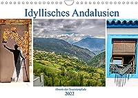 Idyllisches Andalusien (Wandkalender 2022 DIN A4 quer): Kleine Doerfer in den Bergen, blumengeschmueckte Gassen, wenig bekannte Ecken im Sueden Spaniens (Monatskalender, 14 Seiten )