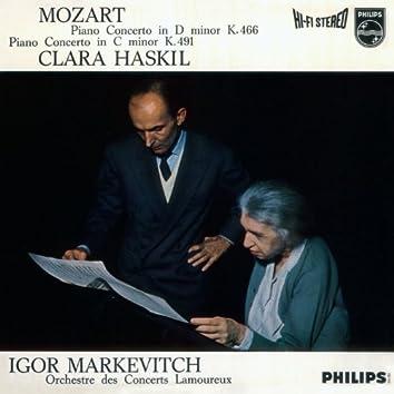 Mozart: Piano Concerto In D Minor, K.466; Piano Concerto In C Minor, K.491
