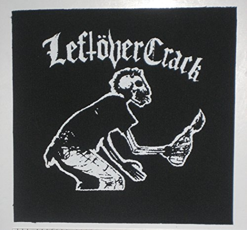 Leftover Crack Patch - Crust Punk Citizen Fish Choking Victim Anarcho F-Minus no Cash Anti-Flag Subhumans The Infested Screeching Weasel Operation Ivy