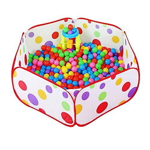 Baby bal zwembad spelen hek, kinderveiligheid Pop-up tent opbergtas, opvouwbare overdekt zwembad hek (100CM)