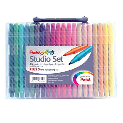 professional Pentel S360PP-35A Art Studio Set