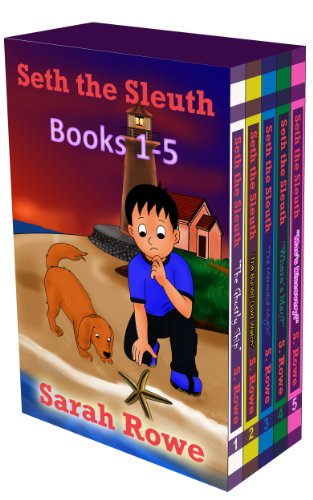 Seth the Sleuth Books 1-5: The Ghostly Ship, The Buried Gold Watch, The Mermaid Myth, Where's Mac...
