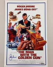 roger moore signed poster