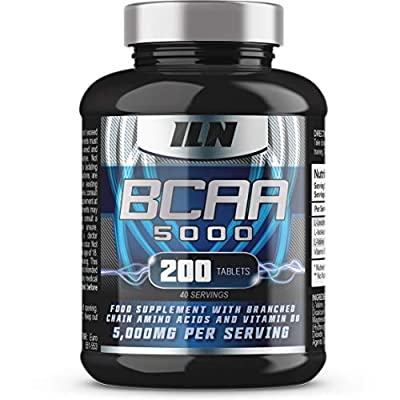 BCAA Ultimate | 5,000mg BCAAs Serving | The Ultimate BCAA Supplement | 40 Servings (200 BCAA Tablets) from Iron Labs Nutrition