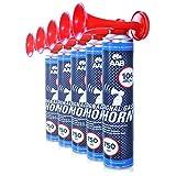 AAB Cooling Signal Gas Horn 750ml - Conjunto de 3 - Fanfarria Muy Fuerte, Bocina de Aire Comprimido, Bicicleta Segunda Mano, Car Horn, Bocina Portatil, Bocina Spray