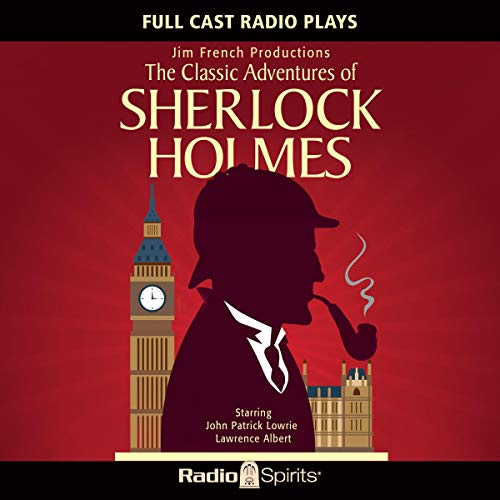 Classic Adventures of Sherlock Holmes audiobook cover art